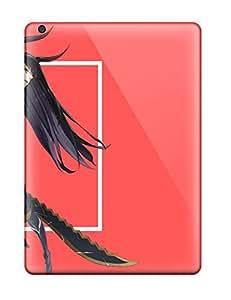 High Grade RonRyanClark Flexible Tpu Case For Galaxy S4 - Black Rock Shooter Anime