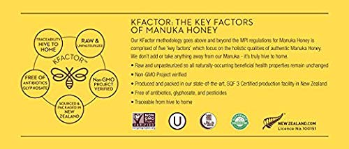 Wedderspoon Raw Premium Manuka Honey KFactor 16, 8.8 Oz, Unpasteurized, Genuine New Zealand Honey, Multi-Functional, Non-GMO Superfood by Wedderspoon (Image #8)