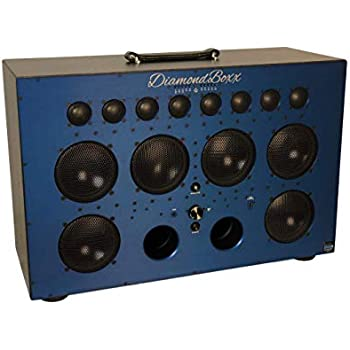 Diamond Box Xl >> Diamondboxx Model Xl2 Blue The Biggest Bass In Wireless Audio Portable Bluetooth Speaker Loud Clear With 1000 Watts Output 20 Hours Per Charge 12