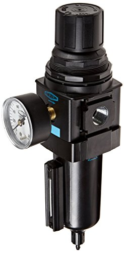 Dixon B28-04MGMB Manual Drain Wilkerson Standard Filter/Regulator with Metal Bowl and Sight Glass, 1/2'' Size, 165 SCFM Flow, 250 psig Pressure by Dixon Valve & Coupling