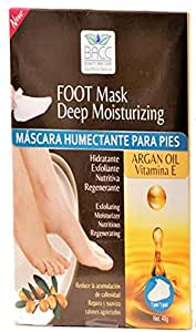 BACC Foot Mask Deep Moisturizing, 5 Pieces