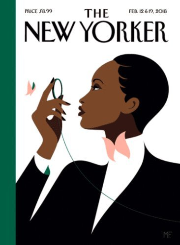 The New Yorker Magazine, The Butterfly Effect by Malika Favre, The Anniversary Issue, February 2018