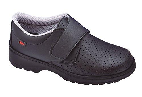 Dian Milán-scl picado - Zapato de trabajo unisex-adulto negro