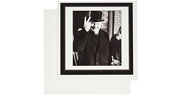 Greeting Cards set of 6 3dRose Vintage Photo Of Winston Churchill.jpg 6 x 6 inches gc/_98649/_1