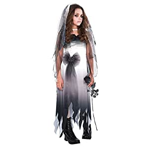 Amscan Graveyard Bride-Small (4-6) Children Costume