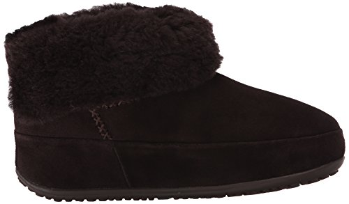 Donna Marrone Fitflop a Scarpe Dark Shorty Brown Collo Alto Mukluk xnAqYw4S
