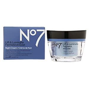 Boots No7 Lift and Luminate Night Cream, 1.6 Fl. Oz.