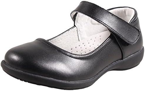LIYZU Girl's Mary Jane Dress Uniform School Flat Oxford Shoes(Toddler/Little Kid/Big Kid)