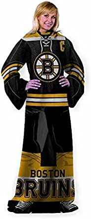 Northwest Boston Bruins Comfy Uniform Wrap Throw Blanket