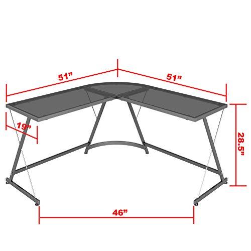 finest selection a8216 1654f SHW Vista Corner L Desk - Import It All