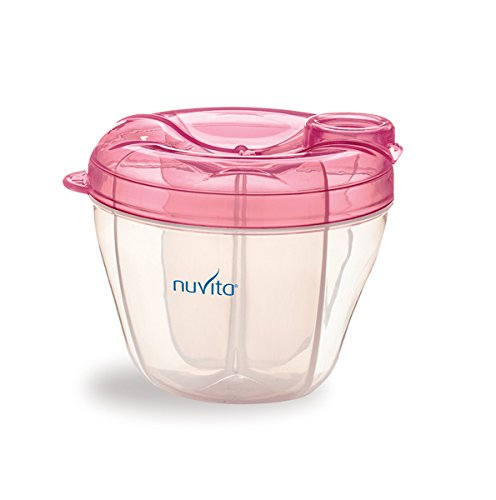 Nuvita 1461 Milk Powder Container and Dispenser (Pink) NUVITA 1461 PIN