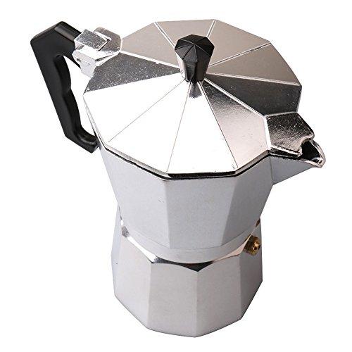Majinz Store Coffee Pots Moka Stovetop Coffee Maker Aluminum Pot French Mocha Espresso Percolator Pot Manual Maker Mocha Pot