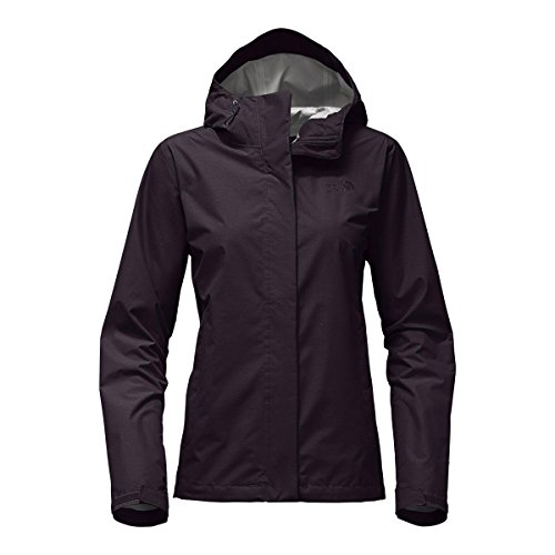 The North Face Women's Venture 2 Jacket Galaxy Purple Heather - Two Logo Face