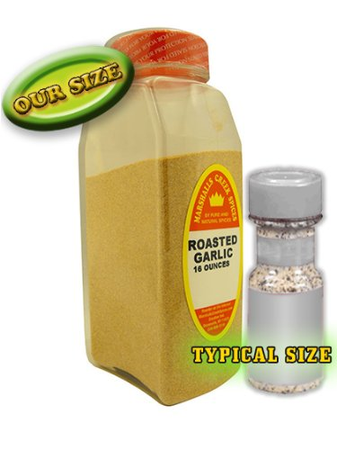 Marshalls Creek Spices Roasted Garlic Seasoning, Granulated, XL Size, 16 Ounce by Marshall's Creek Spices