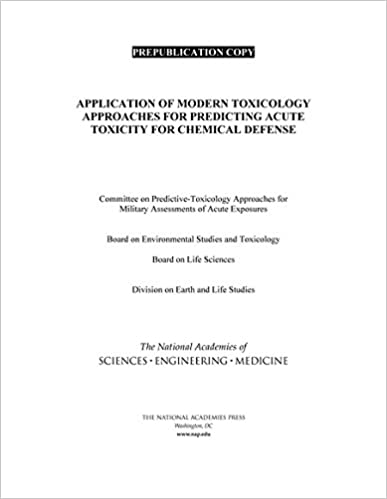 application of modern toxicology approaches for predicting acute