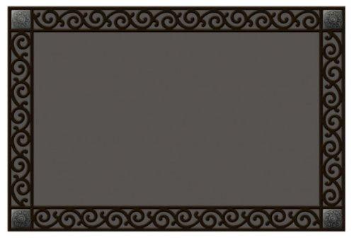 MatMate Rubber Tray-Scroll Doormat]()