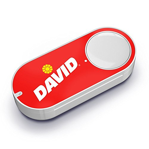 David Sunflower Seeds Dash Button (Button Seed)