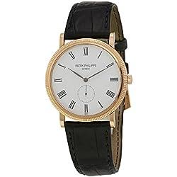 Patek Philippe Calatrava swiss-automatic mens Watch 5119R-001 (Certified Pre-owned)