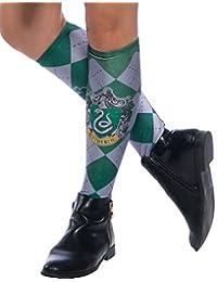 Rubie's Harry Potter Costume Socks, Slytherin, Adult