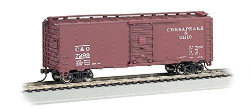 Bachmann Industries 40' Steam Chesapeake & Ohio Era Box Car (HO Scale)