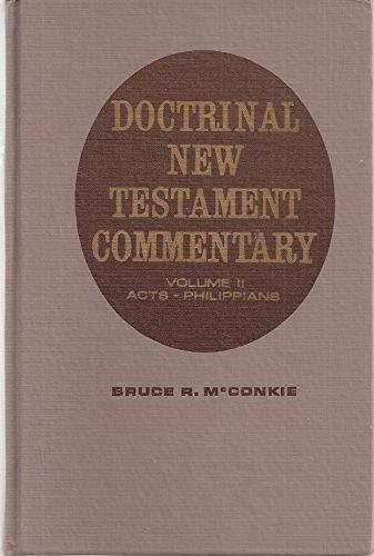 Doctrinal New Testament Commentary, Volume II (R Mc Bruce)