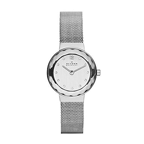 Skagen Women's 456SSS Leonora Stainless Steel Mesh Watch