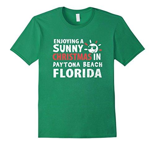 Mens Enjoying a Sunny Christmas in Daytona Beach Florida ...