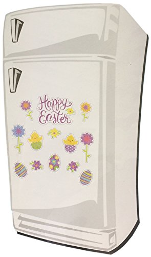 Gllitter Easter Refrigerator Magnets (