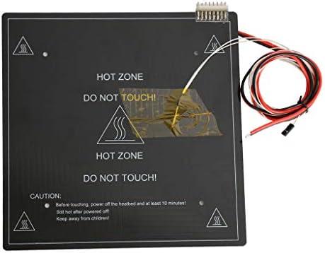 Bloc chauffant jaune Taille unique Pas de z/éro module de chauffage pour imprimante 3D Ender-3 CR-10 5 pi/èces pour imprimante 3D durable
