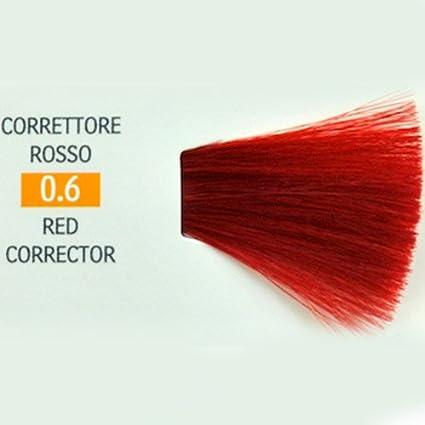 Tinte para Cabello 0.6 Corrector Rojo Genius Color Pak 100 ml ...