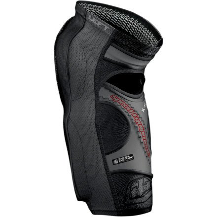 Troy Lee Designs KG 5450 Knee/Shin Guard Guard Solid Black, S by Troy Lee Designs (Image #2)