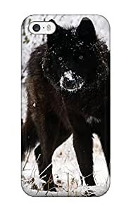 Lovers Gifts Protective Case For Iphone 5/5s(animal Wolf) 5461264K51181550 WANGJING JINDA