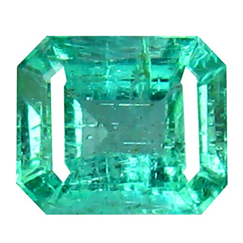 0.40 ct Octagon Cut (5 x 4 mm) Colombian Emerald Natural Loose Gemstone