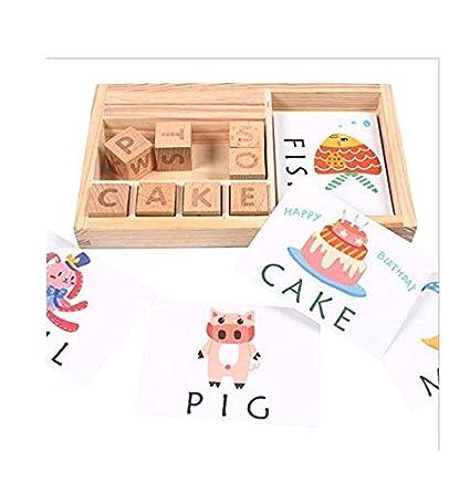 Buy Balabala Wooden English Spelling Alphabet Letter Game