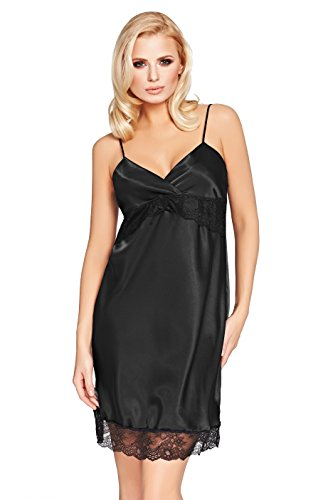 Postero Nightwear - Camisola - para mujer negro