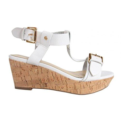 Sandalen für Damen MTNG 58356 VACHE BLANCO