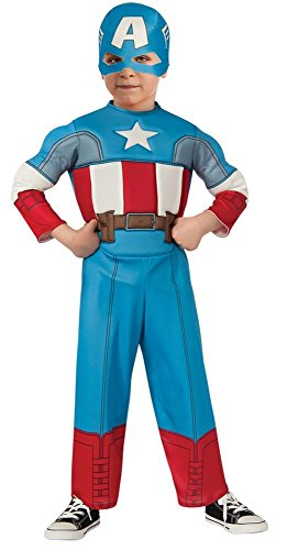 Captain America Toddler Costume Patriotic American Superhero