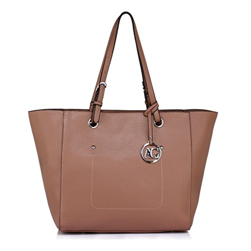 A4 Shopper Women Shoulder Bag Style Ag Bags Celeb Ladies Charm Sale Fashion Ladies Handbag Nude 350 Clearance Tote Designer For LeahWard qxag4wf