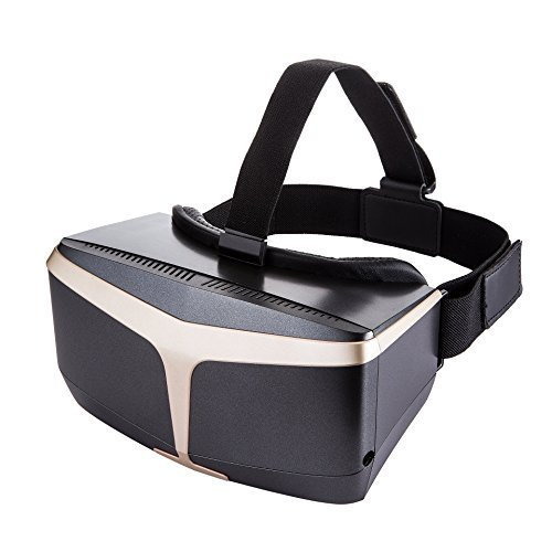 XYuan VIEW VR Headset,Immersive Glasses,with HD Digital Display&Three Group of Glasses,Support 4.5-5.7 inches Android/iOS phones,Samsung Galaxy s6&iPhone 6s/6 plus for Movies&Games