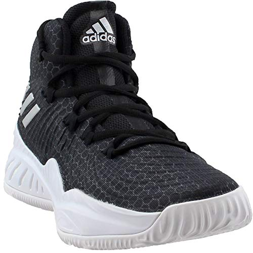 separation shoes 2e72d ba171 adidas Crazy Explosive 2017 NBA NCAA Shoe - Men s Basketball 11 Core  Black Silver Metallic White