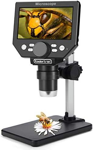 Koolertron 4.3 inch LCD Digital USB Microscope,8MP...
