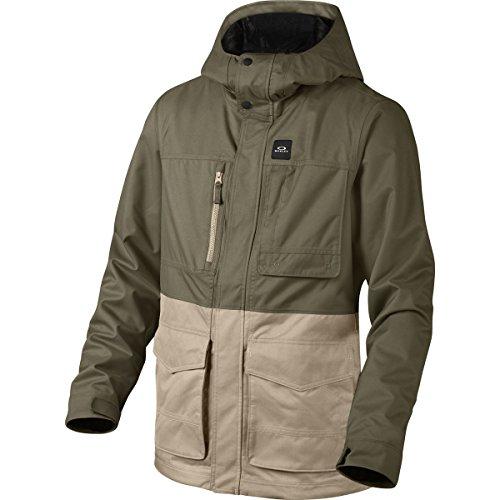 Oakley Snow Jacket (Oakley Men's Great Scott BZS Jacket, Large, Dark Brush)