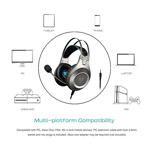 41zcUtVQR L - NUBWO-Gaming-Headphone-with-Microphone-for-Pc-Mac-Ps4-Xboxone-Table-Phone