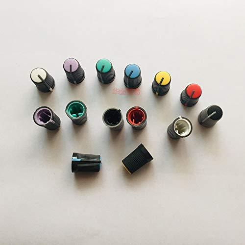 Lysee 14pcs for SOUNDCRAFT EMX-24 professional mixer EMX24-USB DSP effect plastic knob cap cover