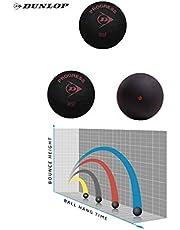 Sportsends Dunlop Squash Balls - Alle Arten mit Variety Pack (3er Pack)