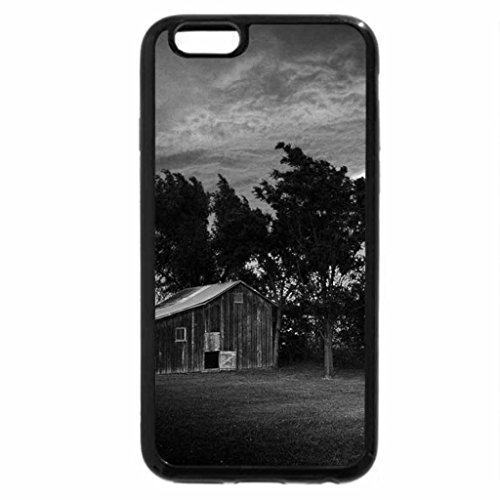 iPhone 6S Plus Case, iPhone 6 Plus Case (Black & White) - Old Shed