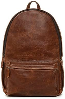 The Clifton ONA046LBR ONA Antique Cognac Leather Camera Backpack