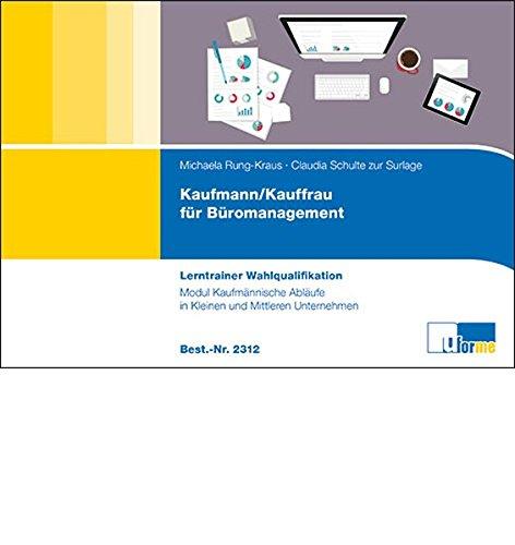 Kaufmann Frau Für Büromanagement Lerntrainer Wahlqualifikation