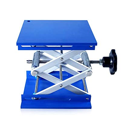 Lift Table Aluminum Router Lab Stand Lifter Scientific Scissor Lifting Jack Platform Rack lift platform
