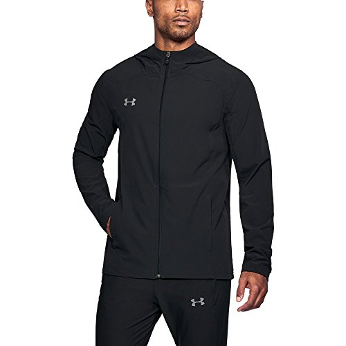 Storm Shell Jacket - Under Armour Men's Challenger II Storm Shell Jacket, Black (001)/Graphite, XX-Large